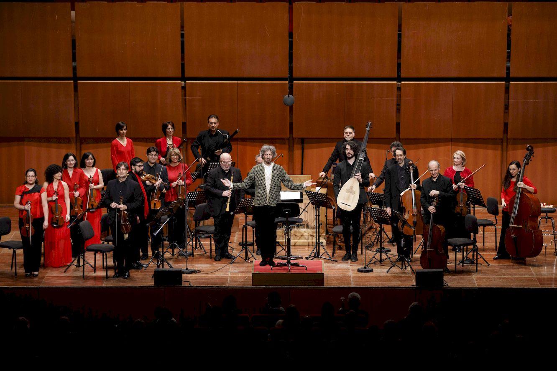 La musica barocca a santa cecilia grande successo per i for Auditorium parco della musica sala santa cecilia