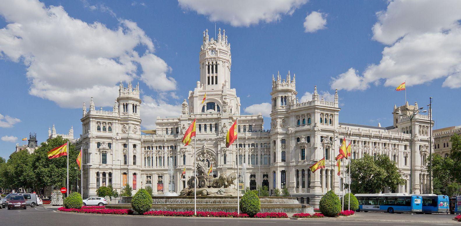 "Architettura A Madrid architettura a madrid, il ""palacio de cibeles"" nella storia"