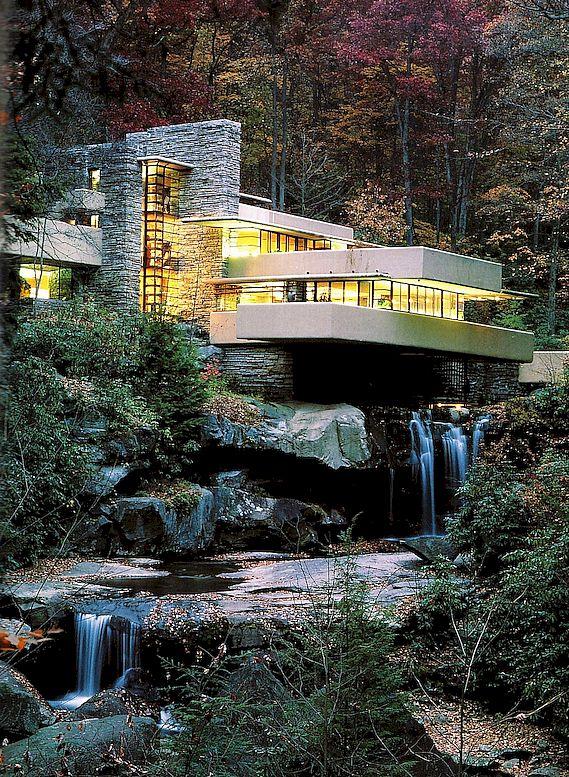 """Frank Lloyd Wright e la """"casa sulla cascata"""": quando l ..."""